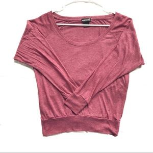 Wet Seal Mauve Long Sleeve